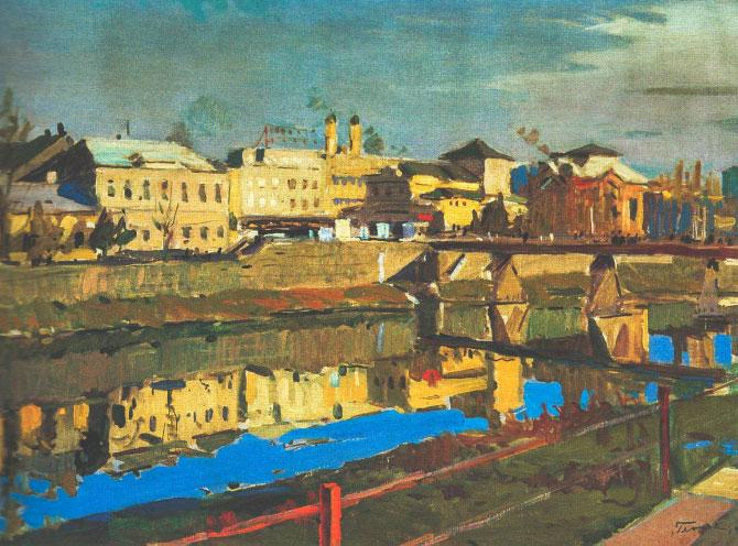 Ерделі А._'В околицях Рахова', 1940, п.о., 98х128_A 1