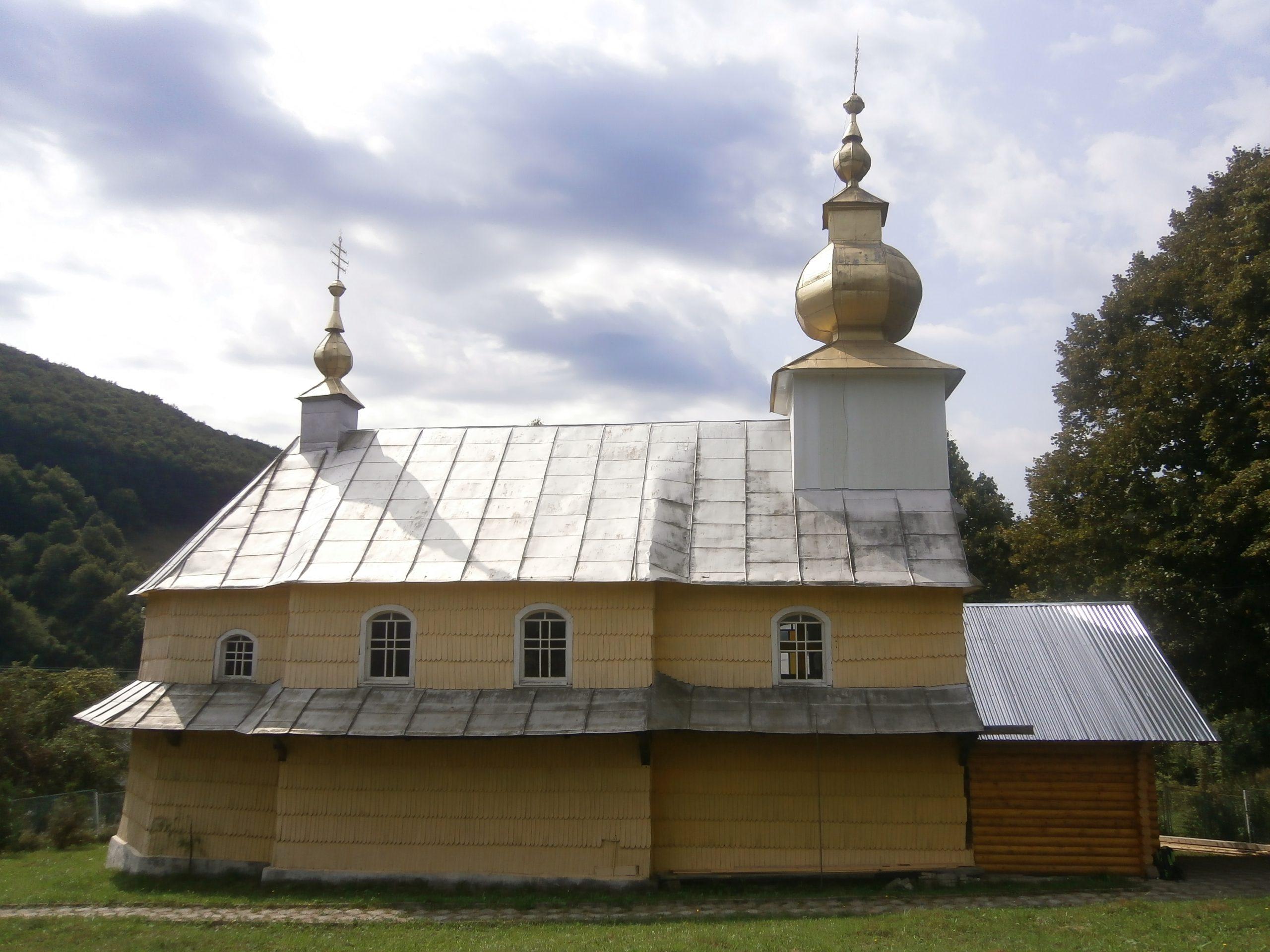 Церква село Ялове